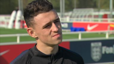 Foden learning the ropes with U21s
