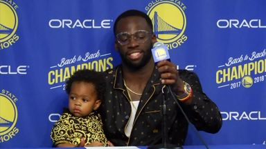 Draymond Green Jr steals the show!