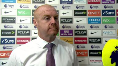 Dyche criticises refereeing decisions
