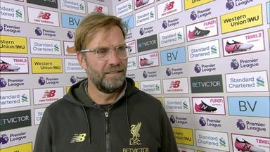 Klopp 'really happy' as Liverpool go top