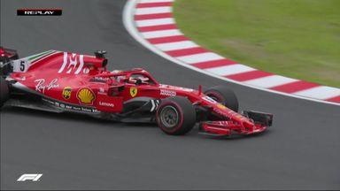 Spin for Vettel in Q1