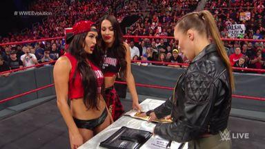 Ronda Rousey's vow to Nikki Bella