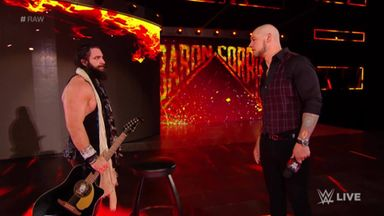 Elias takes out Corbin with his guitar