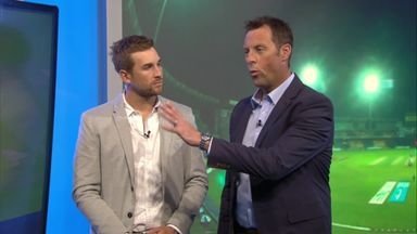 Batting tips with Malan and Trescothick