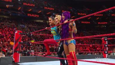 Banks & Bayley help Natalya