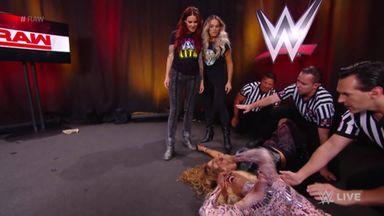 Lita & Stratus involved in backstage brawl!