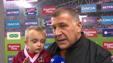Wane: I'm absolutely ecstatic