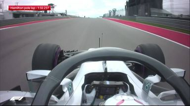 Hamilton's pole lap analysed