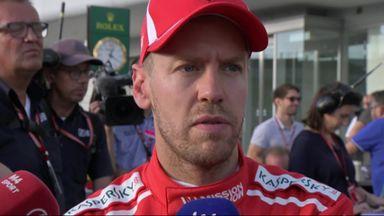 Vettel blames Verstappen