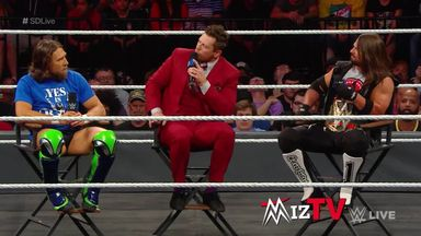 The Miz tries to stir up trouble