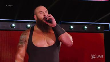 Strowman's message to Lesnar