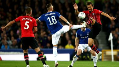 Everton 1-1 Southampton (3-4 pens)