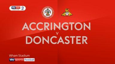 Accrington 1-0 Doncaster