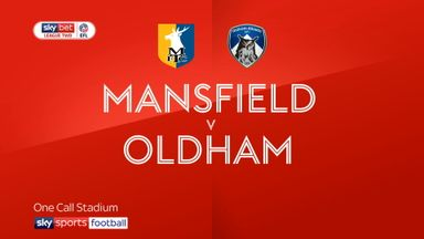 Mansfield 0-0 Oldham