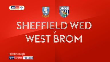 Sheff Wed 2-2 West Brom