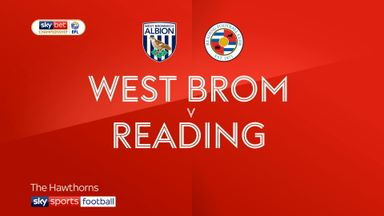 West Brom 4-1 Reading
