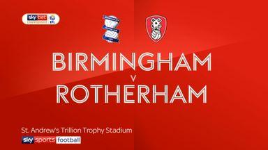 Birmingham 3-1 Rotherham