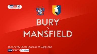 Bury 2-2 Mansfield
