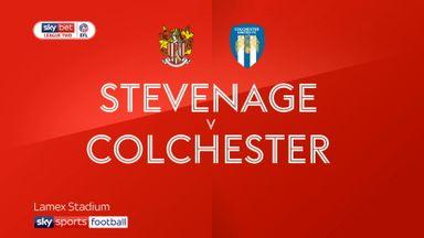 Stevenage 3-1 Colchester