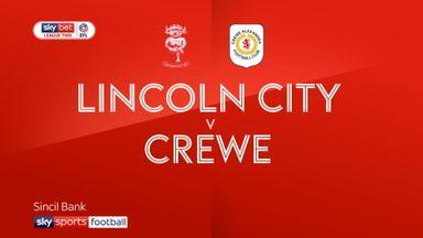 Lincoln 1-0 Crewe