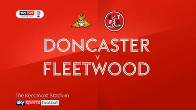 Doncaster 0-4 Fleetwood