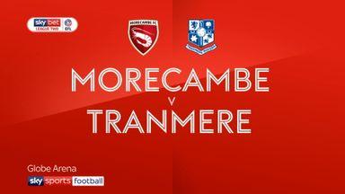 Morecambe 3-4 Tranmere
