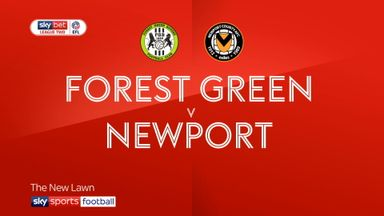 Forest Green 1-1 Newport