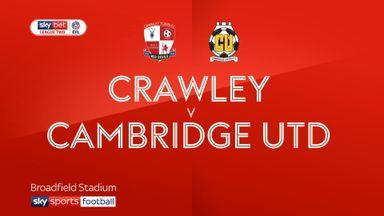 Crawley 2-0 Cambridge