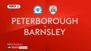 Peterborough 0-4 Barnsley