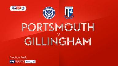 Portsmouth 0-2 Gillingham