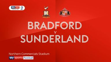 Bradford 1-2 Sunderland