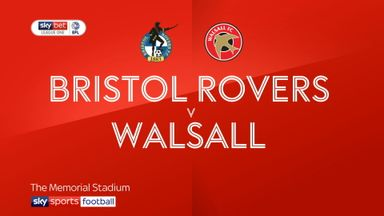Bristol Rovers 0-1 Walsall