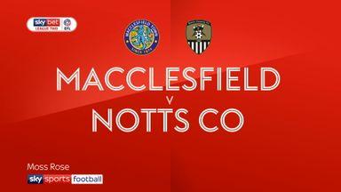 Macclesfield 0-1 Notts Co