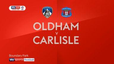 Oldham 1-3 Carlisle