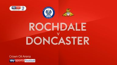 Rochdale 2-3 Doncaster