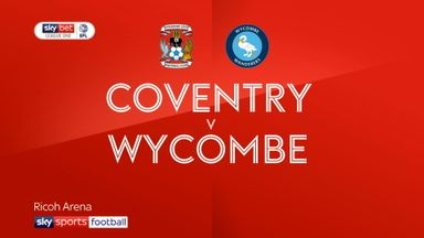 Coventry 1-0 Wycombe