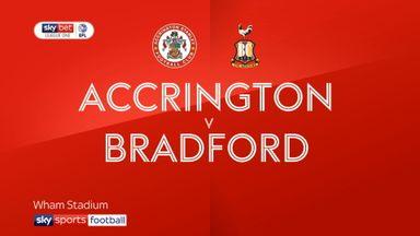 Accrington 3-1 Bradford