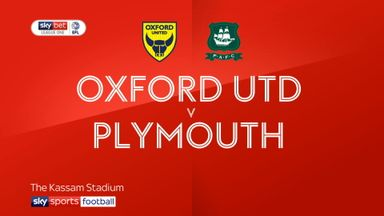 Oxford Utd 2-0 Plymouth