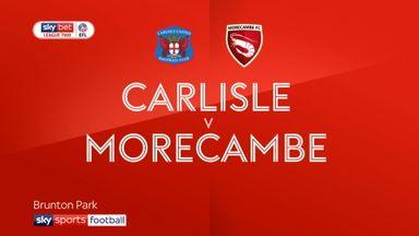 Carlisle 0-2 Morecambe