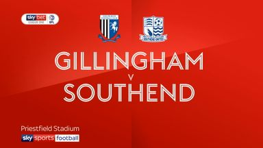 Gillingham 2-0 Southend