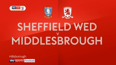 Sheff Wed 1-2 Middlesbrough