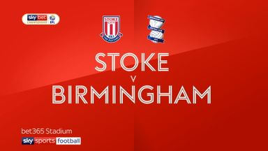 Stoke 0-1 Birmingham