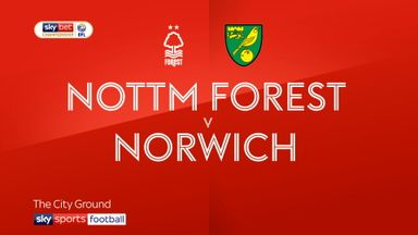 Nottm Forest 1-2 Norwich