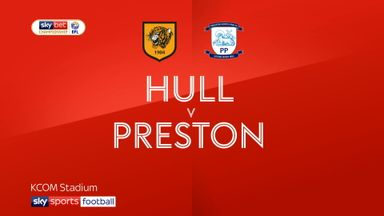 Hull 1-1 Preston