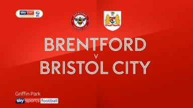 Brentford 0-1 Bristol City