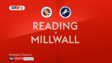 Reading 3-1 Millwall