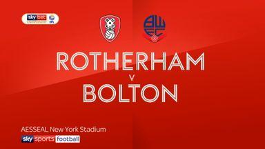 Rotherham 1-1 Bolton