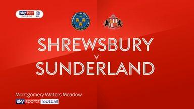 Shrewsbury 0-2 Sunderland