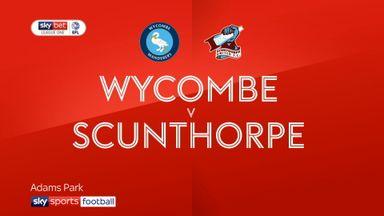 Wycombe 3-2 Scunthorpe