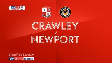Crawley 4-1 Newport